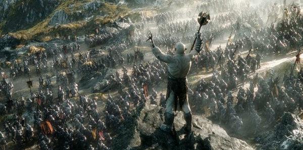 Der Hobbit Schlacht Szene Screenshot
