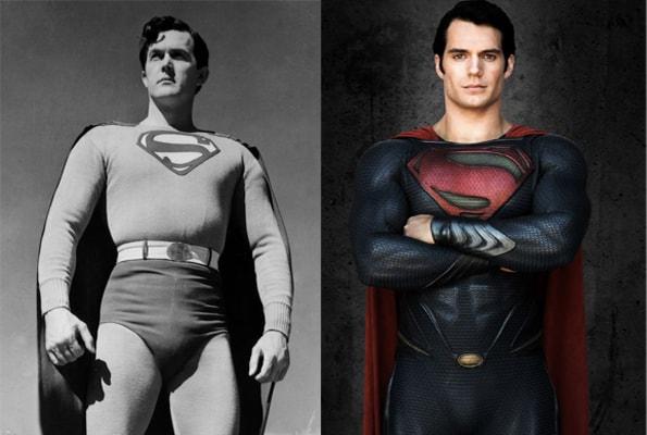 superman früher vs. heute
