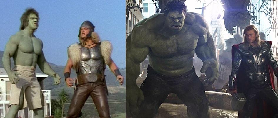 Hulk Früher vs. Heute