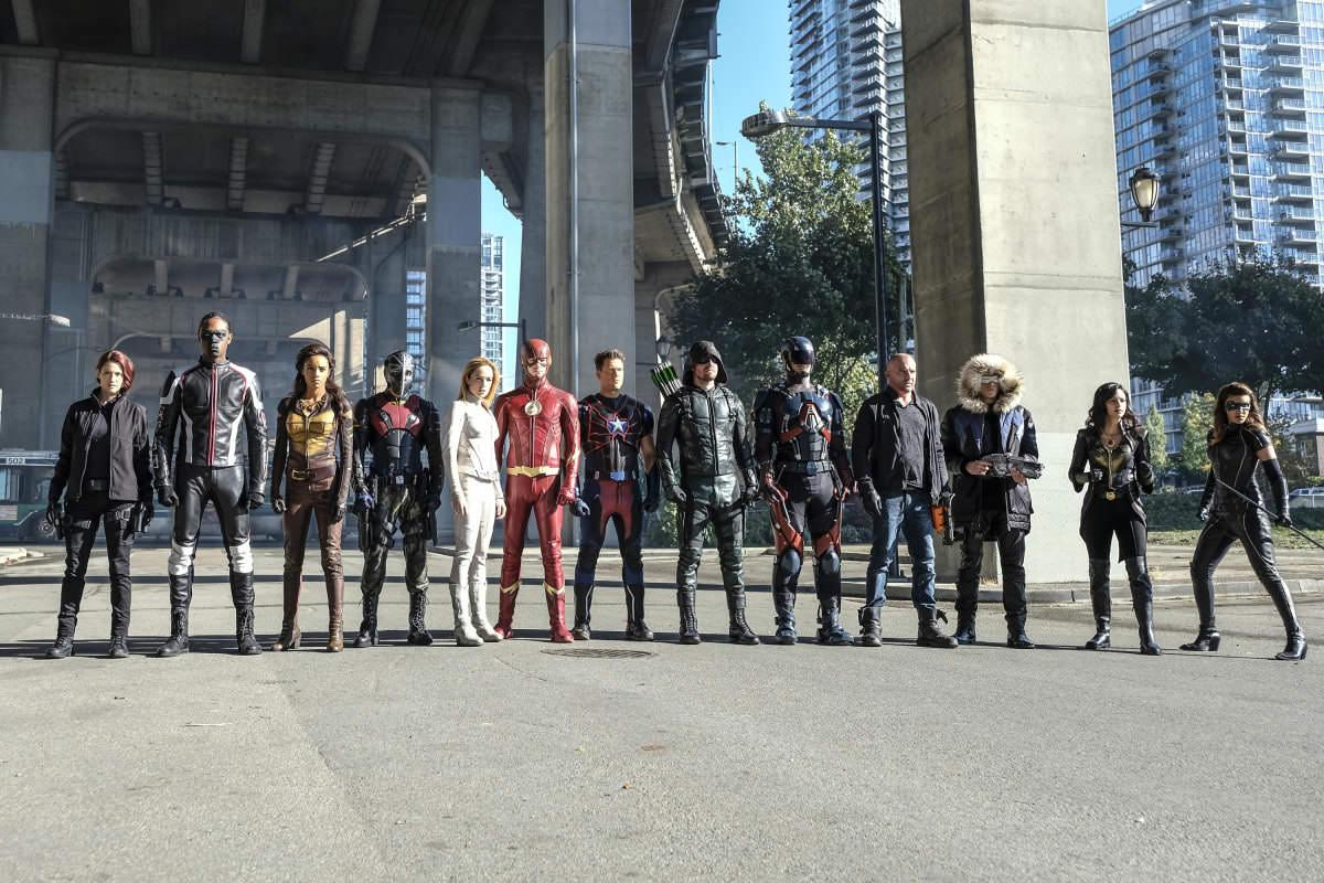 Arrow, The Flash, Supergirl & Legends Serien-Crossover