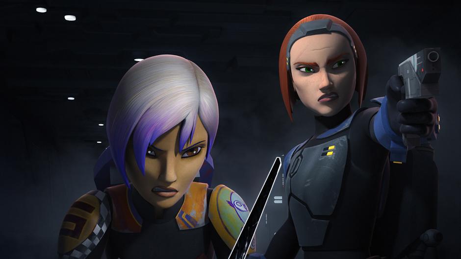 Star Wars Rebels Videoclips