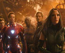 Avengers Infinity War Kampf zwischen Iron Man und Star-Lord