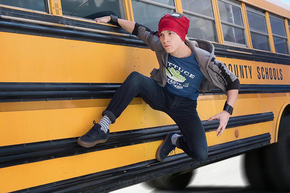 Infinity War aus dem Bus Spider-Man