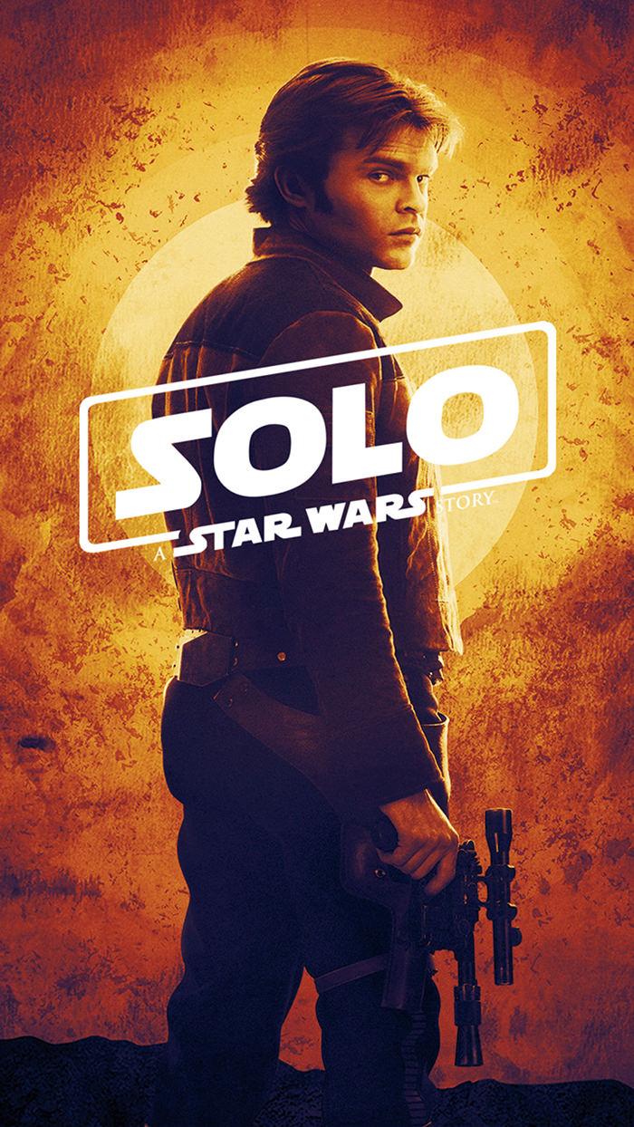 Han Solo - Poster Alden Ehrenreich