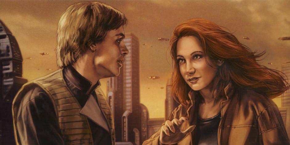 Mara Jade und Luke Skywalker Star Wars 9