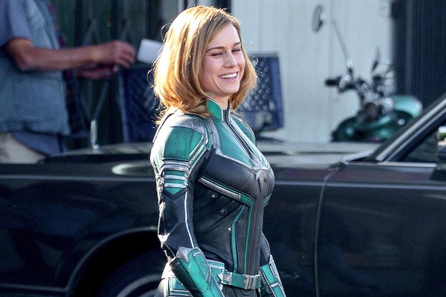 Captain Marvel gespielt von Brie Larson