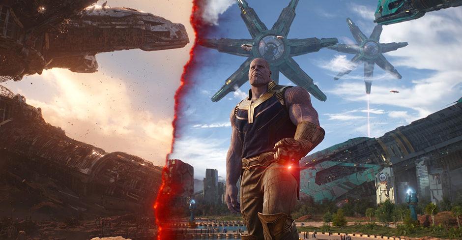 Infinity War VFX Featurette Video Avengers Thanos Image