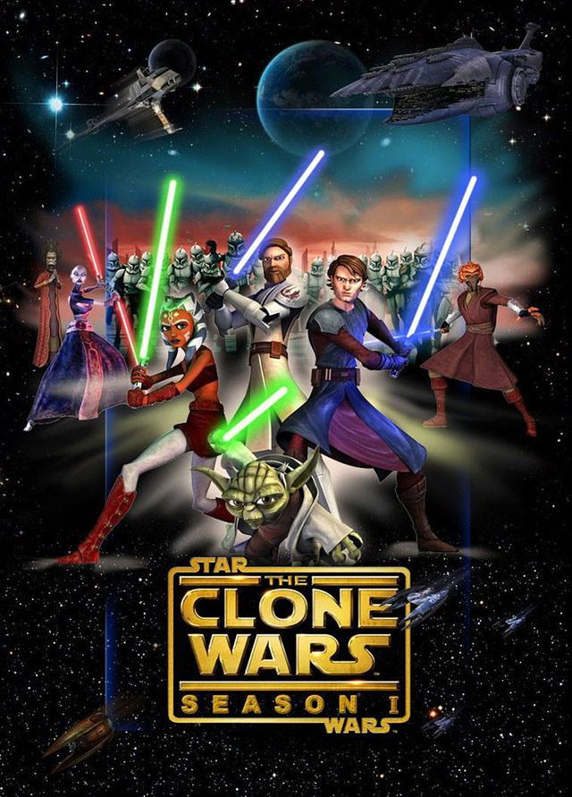 The Clone Wars Serie (2008-2015)