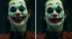 Joaquin Phoenix im vollen Joker Make-up