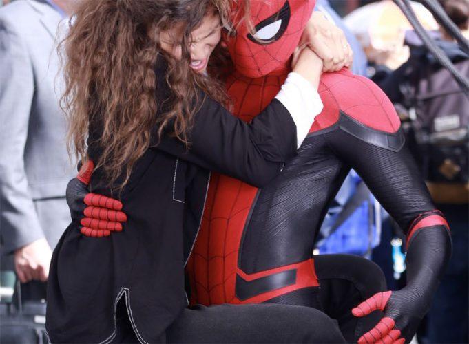 Fotos des neuen Spider-Man
