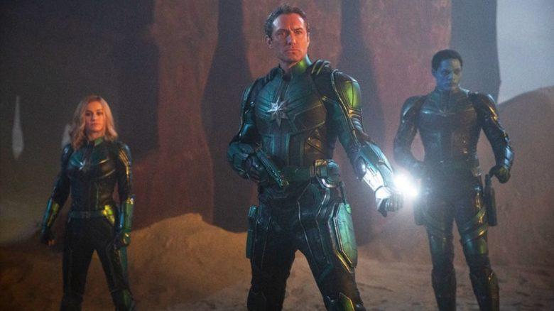 Captain Marvel Spots