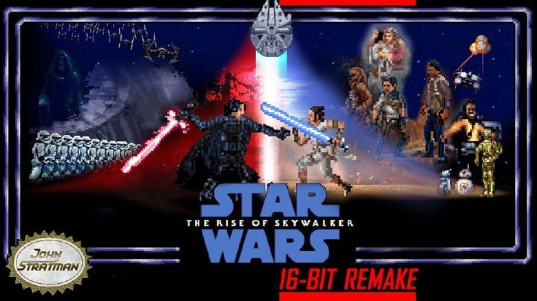 Der Aufstieg Skywalkers in 16-Bit